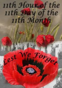 Remembrance Day: The Twists and Turns of Life...
