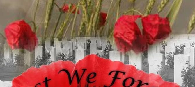 Remembrance Day: The Twists and Turns of Life…